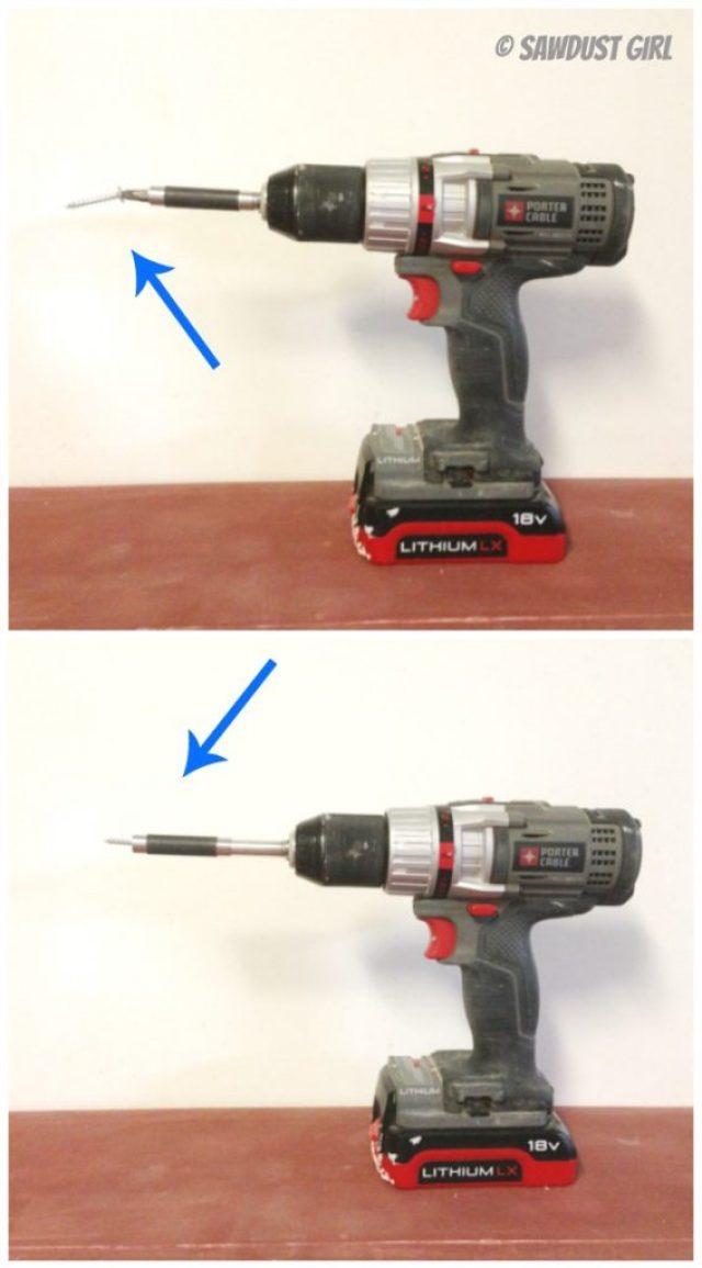 hold screws with bit sleeve