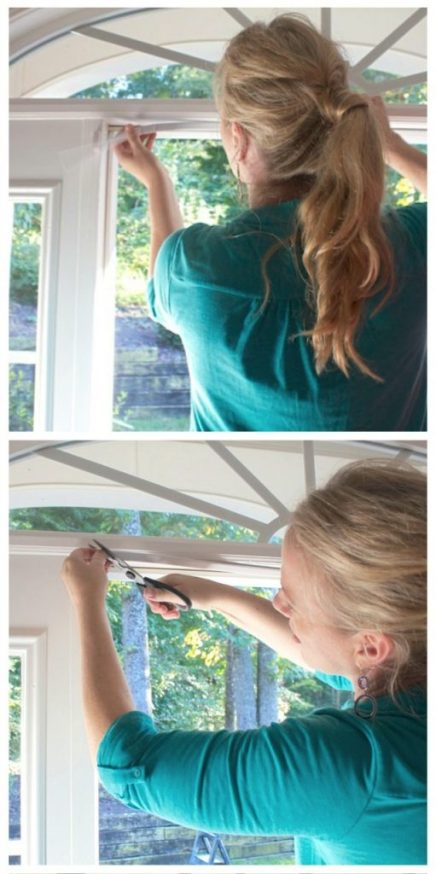 Installing weather stripping