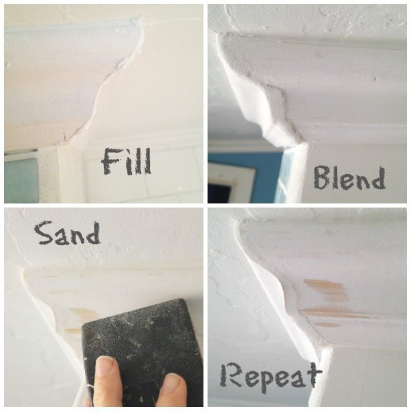 How To Fix Gaps In Crown Molding Sawdust Girl 174