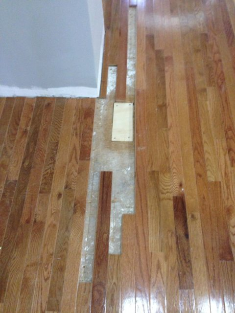 patching floors
