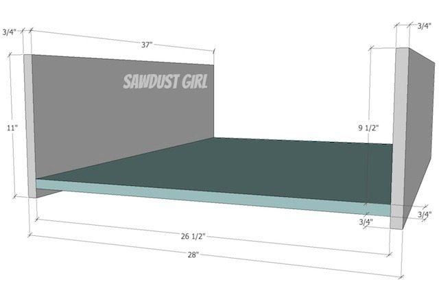 Cal King Platform Storage Bed - Free Plans