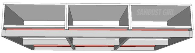Platform Storage Bed --free plans