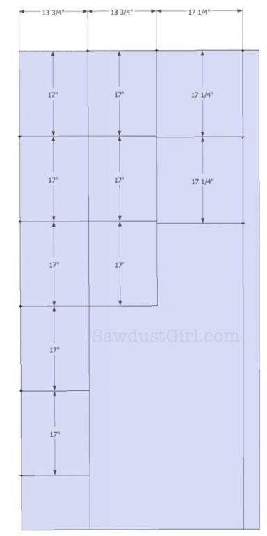 Built-in Window Seat - Bench Plans - Sawdust Girl®