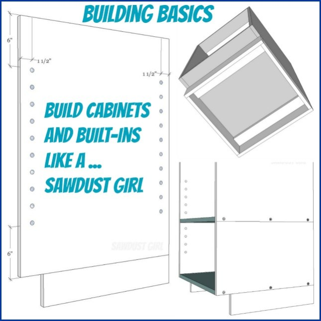 Basics for building cabinets and built-ins