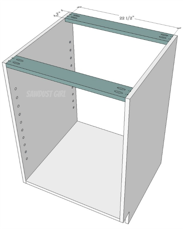 How to build a cabinet with pocket hole screws - Sawdust Girl®