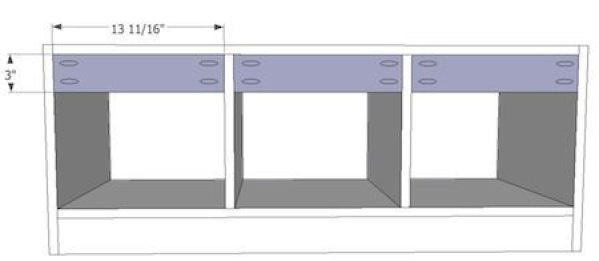 Built in Entryway Bench Plans