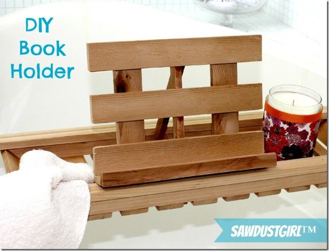 Diy Gift Ideas Cedar Bathtub Caddy Sawdust Girl