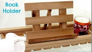 Diy Gift Ideas Cedar Bathtub Caddy Sawdust Girl