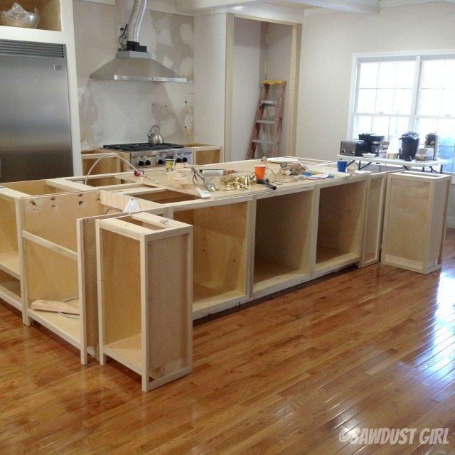 Kitchen Island Sawdust Girl 174