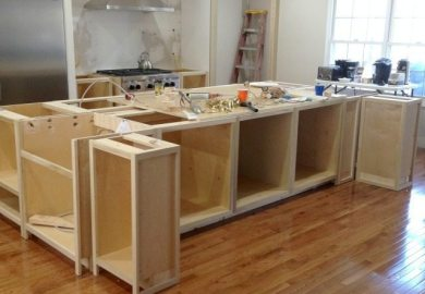 How To Build Kitchen Cabinets Diy