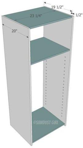 How to build a bookshelf
