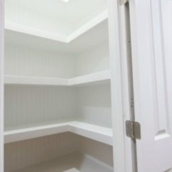 How Much Is Kitchen Cabinet Installation Pulls And Knobs Hall Closet With Floating Shelves - Sawdust Girl®