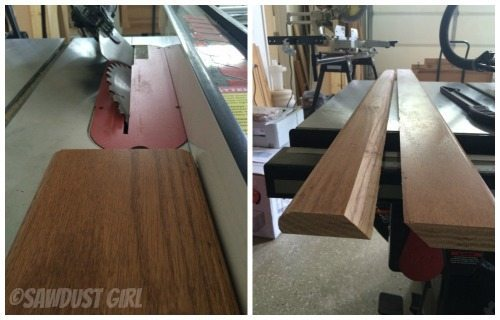 How To Hang A Cabinet Using A French Cleat Sawdust Girl 174