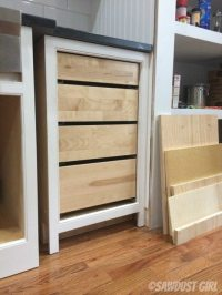 tips for installing inset drawers on Faceframe cabinets ...