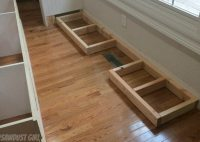 How to install a cabinet base with a floor vent - Sawdust ...