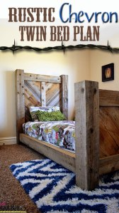 Barnwood Twin Bed Plan