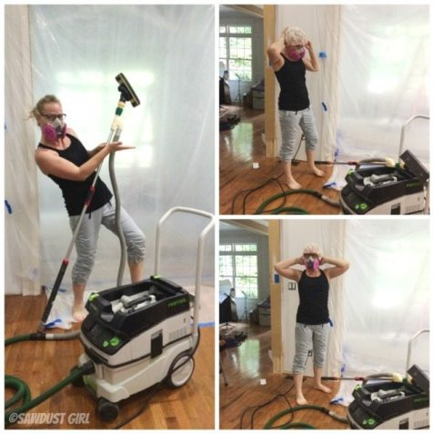 Dust free drywall sanding - gearing up