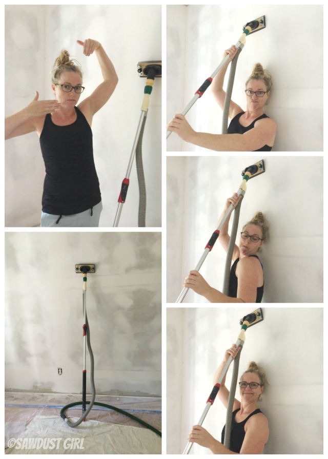Dust free drywall sanding - the test