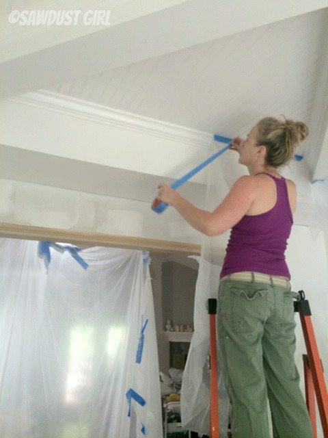 How to Build a Box Beam Ceiling