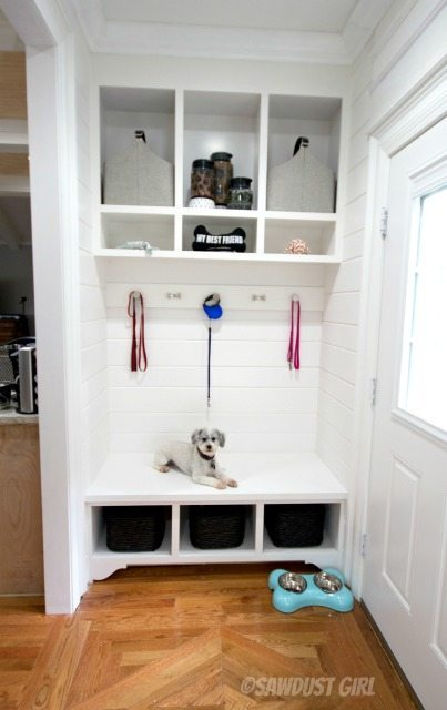 Storage Bench and Cabinets - Sawdust Girl®