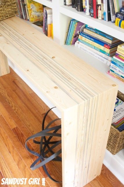Rustic Contemporary Entry Table - GRR-RIPPER review and giveaway