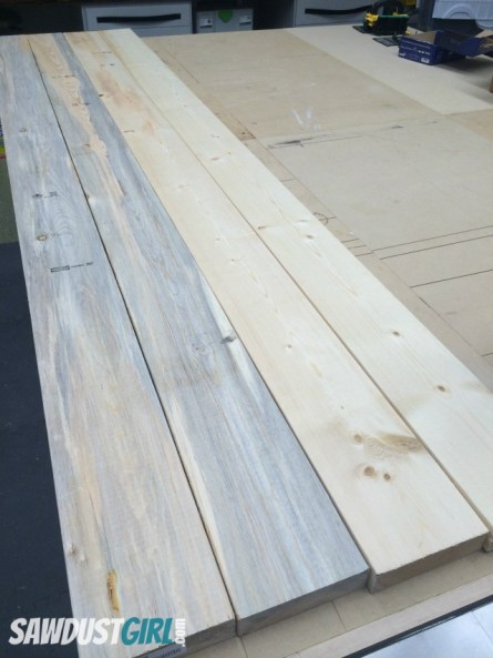 Blue Stained Pine