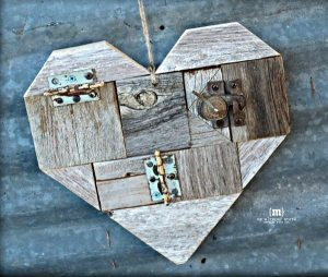 DIY Scrap Wood Hearts