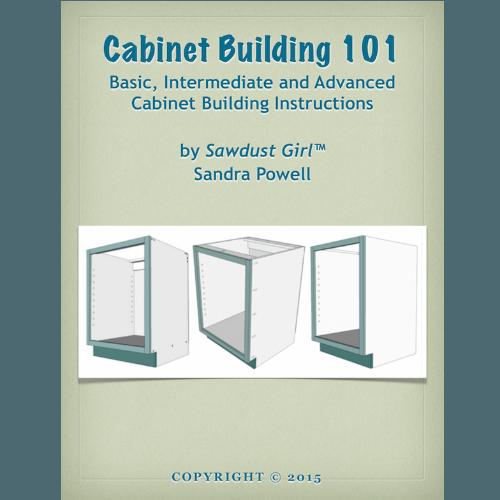 Cabinet Building 101 E Book Sawdust Girl 174