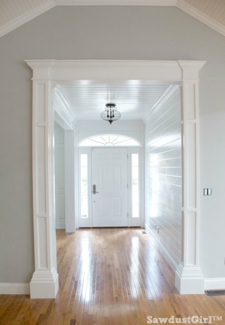 How to build decorative columns finished