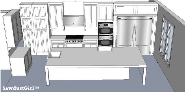 Kitchen Design Ideas - https://sawdustgirl.com/