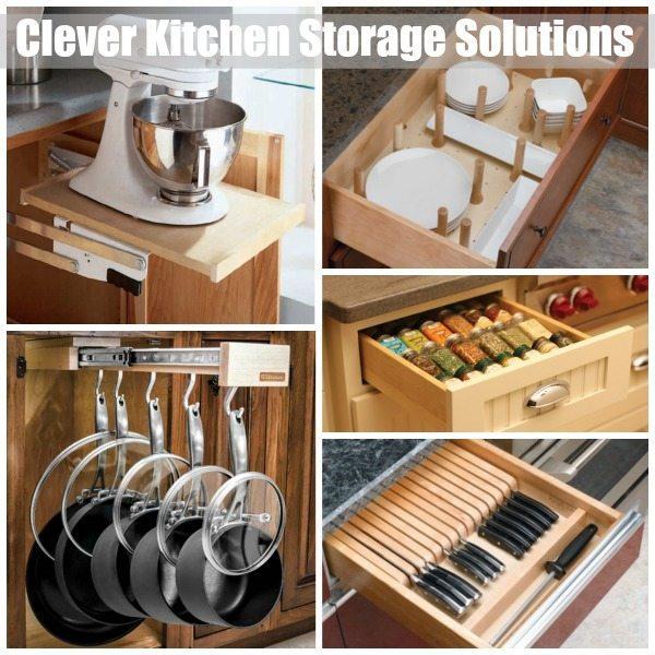 Kitchen Storage Solution Ideas Sawdust Girl