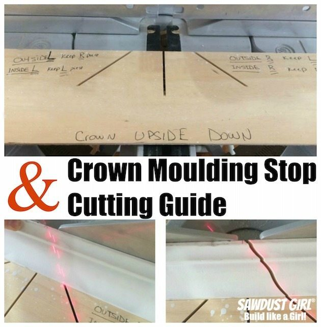 Kitchen Cabinet Crown Molding Installation: Crown Moulding Stop And Cutting Guide