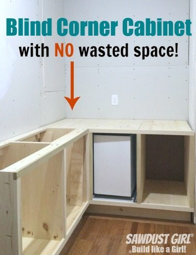 Diy Corner Cabinet With No Wasted Space Sawdust Girl 174