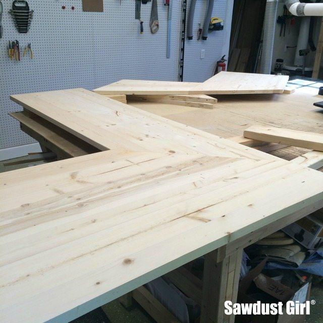 DIY wood countertops