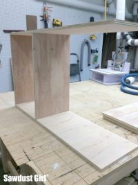 Building a Wine Storage Cabinet - Sawdust Girl