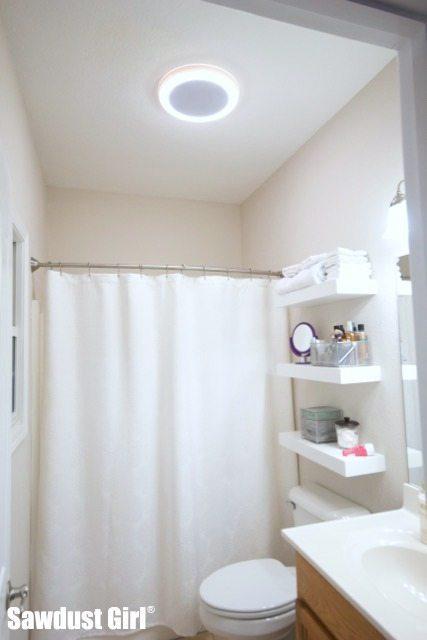 Bluetooth Speaker LED Light Bathroom Fan Giveaway Plus
