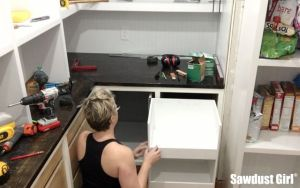 Blind Corner Cabinet vs The Perfectionist