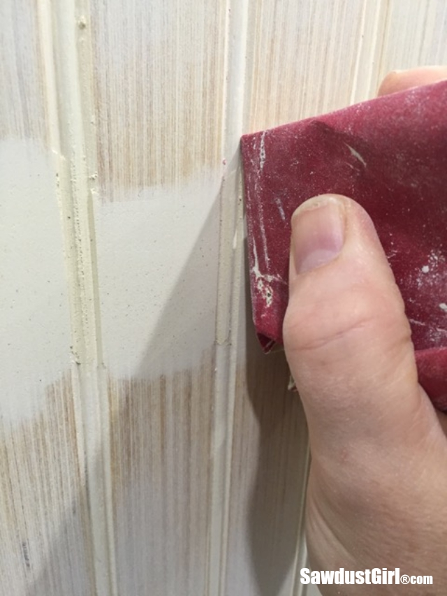 How to hide seams in Beadboard  Sawdust Girl