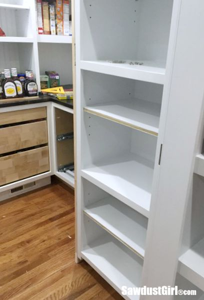 How to add faceframe to shelves
