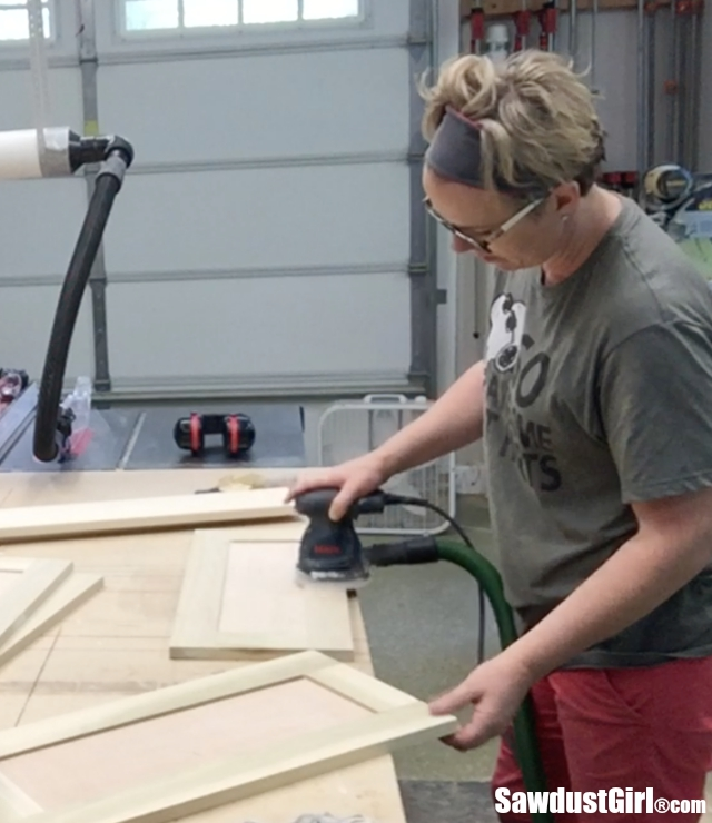 Building Drawer Fronts for Inset Drawers