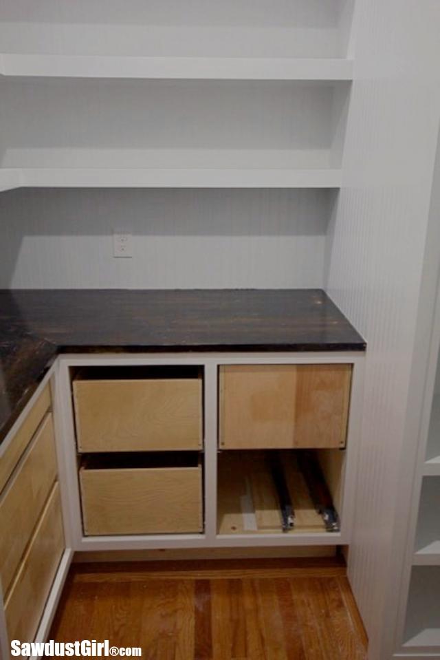 Heavy duty drawers