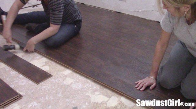 Pergo Installation Laminate Flooring Sawdust Girl 174