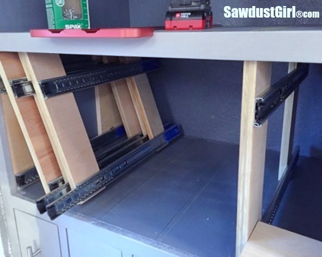 How to Install Vertical Storage Drawers