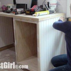 Kitchen Cabinet Trim Installation Sink Farmhouse Add Beadboard Paneling To Sides - Sawdust Girl®