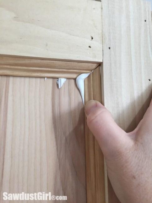 Installing Decorative Trim in Faceframe Columns