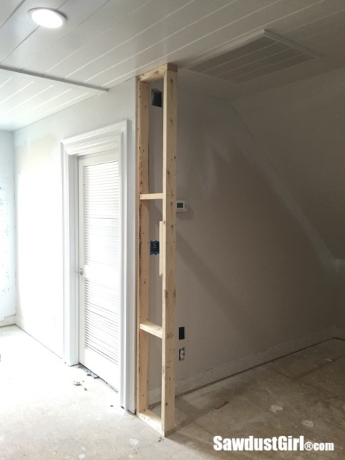 Relocating thermostat and light switch