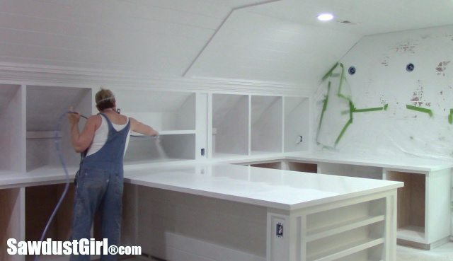 Painting Countertops and Cabinets