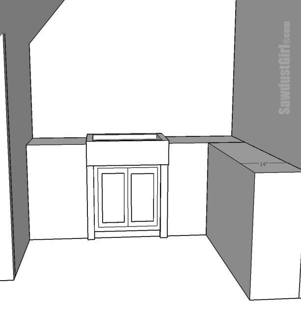 Utility sink area design options