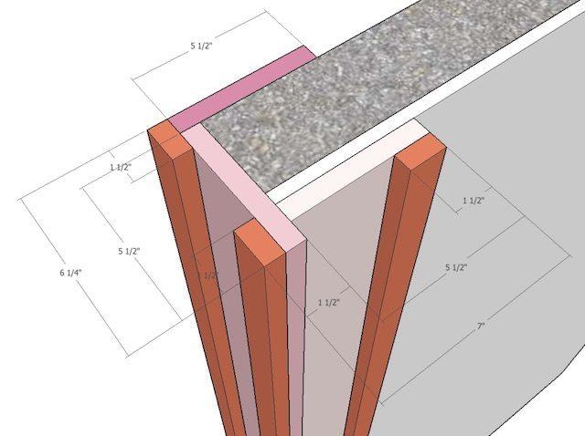 Building decorative columns