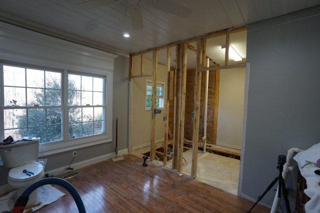 More Bathroom Demolition